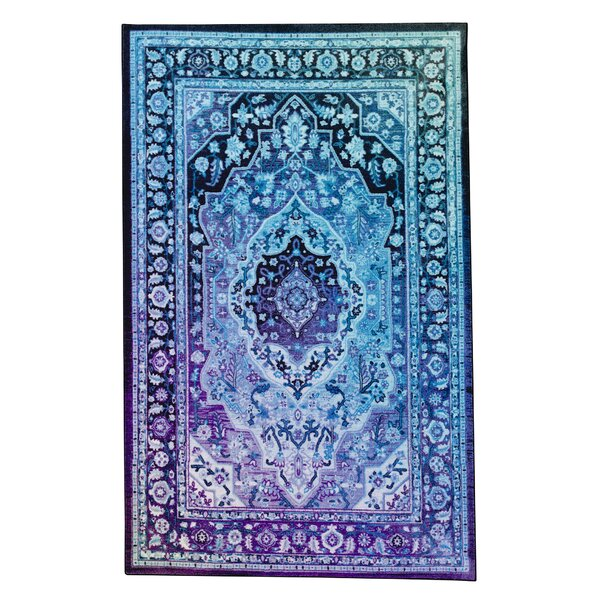 Clement Twilight Blue Area Rug by Bungalow Rose