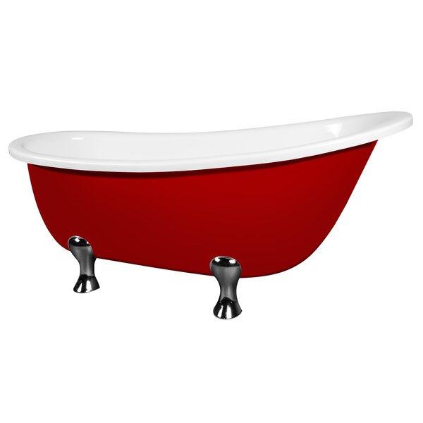 64 x 29.5 Soaking Bathtub by AKDY