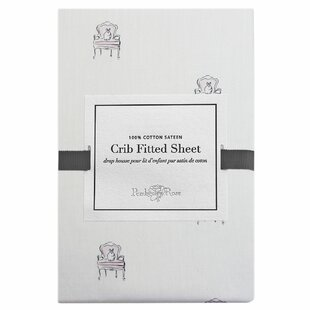 Mlle Lapin Fitted Crib Sheet ByPemberley Rose