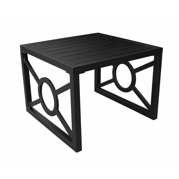 Madison Aluminum Side Table by kathy ireland Homes & Gardens by TK Classics
