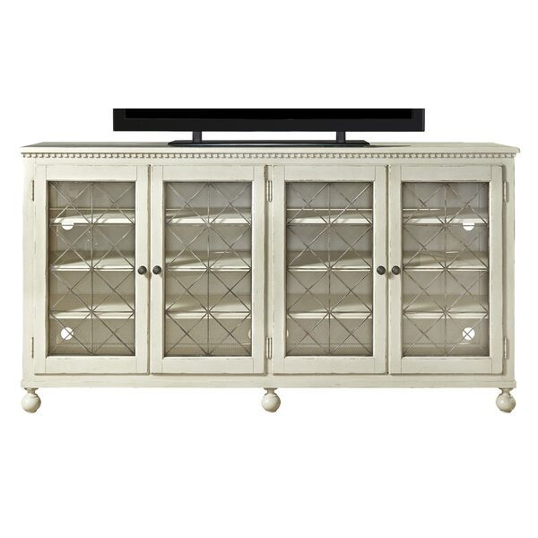 Mikah Solid Wood TV Stand For TVs Up To 88