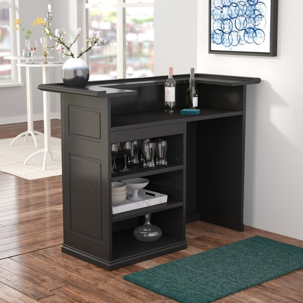 Schaub Bar with Wine Storage by Latitude Run