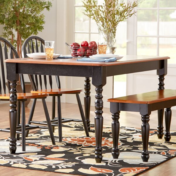 Sheldon Dining Table by Alcott Hill