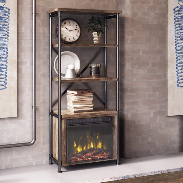 Millen Etagere Bookcase by Three Posts