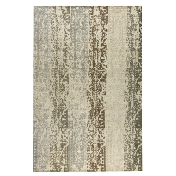 Madison Hand-Woven Silver/Beige Area Rug by M.A. Trading