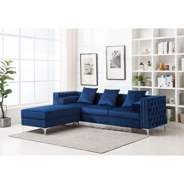 Marcial Reversible Modular Sectional With Ottoman By Rosdorf Park