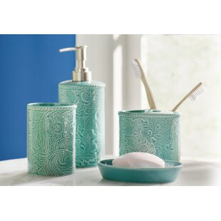 Ahlers 4 Piece Bathroom Accessory Set