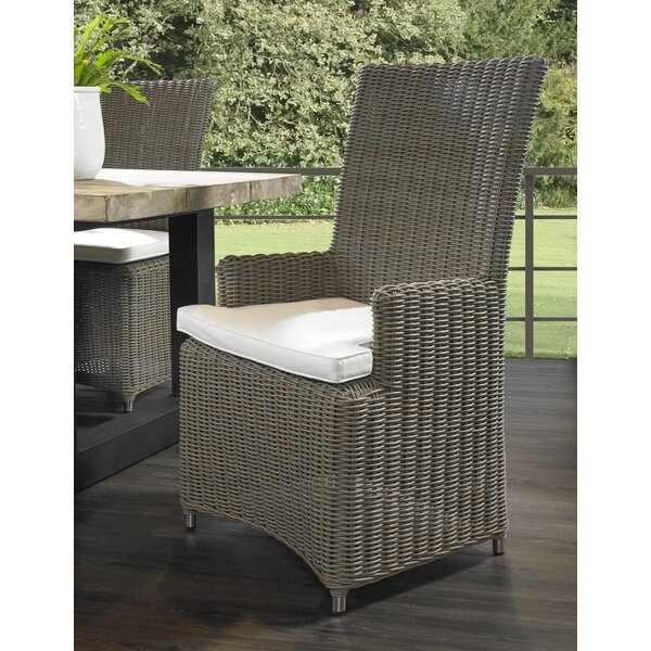Anson Patio Dining Chair by Rosecliff Heights