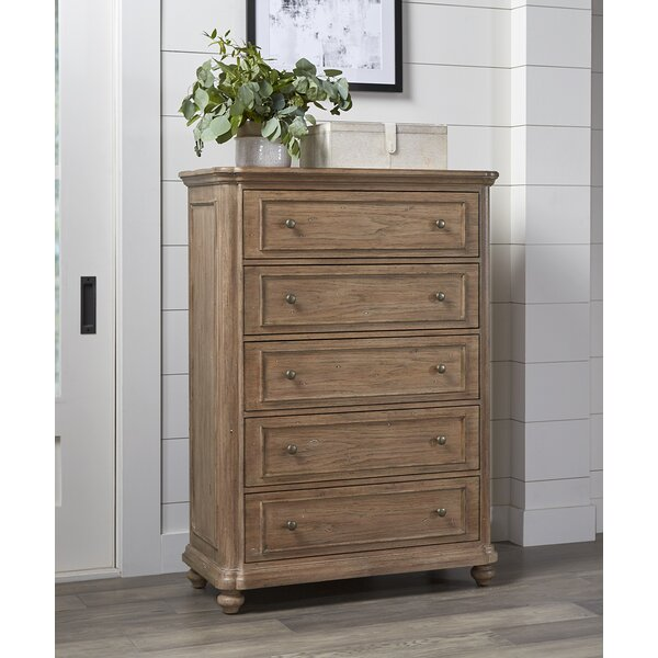 Benoit Benoit 5 Drawer Chest by One Allium Way