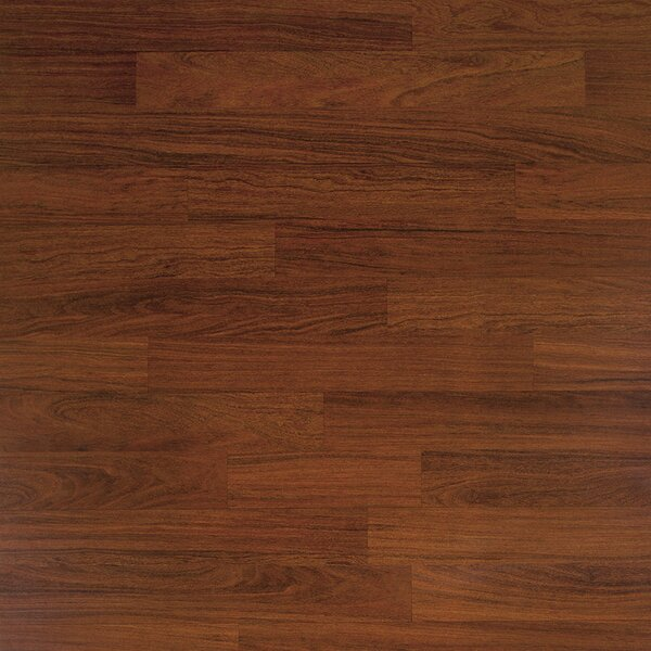 Classic 7.5 x 47.25 x 8mm Cumaru Laminate Flooring in Dark Cumaru by Quick-Step