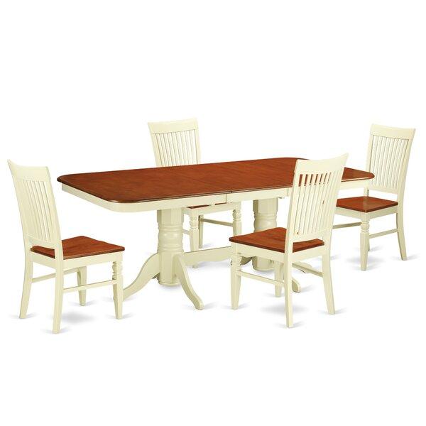 Pillsbury 5 Piece Extendable Dining Set by August Grove
