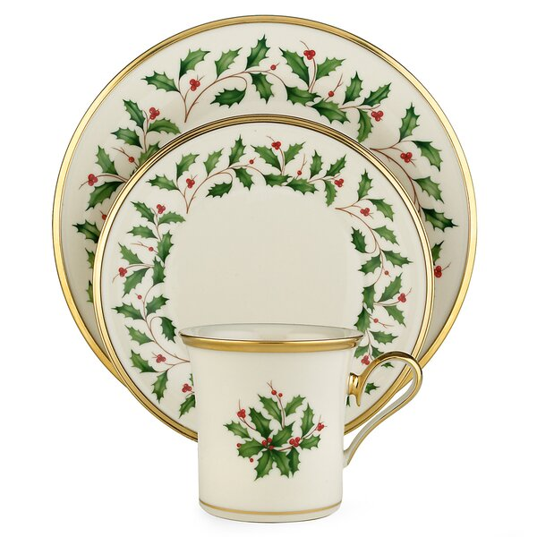 Holiday 12 Piece Dinnerware Set, Service for 4 by Lenox