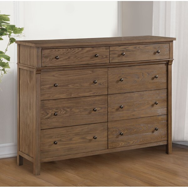 Doyal 8 Drawer Double Dresser by Darby Home Co