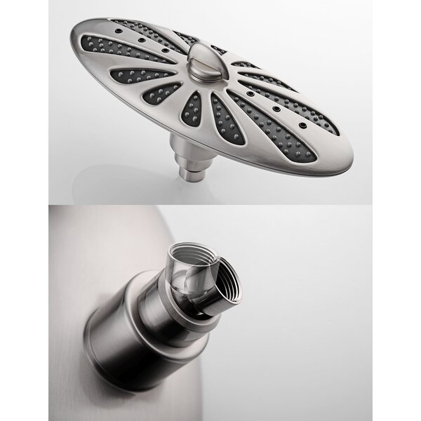 Multi Function Rain Shower Head by Bright Showers Bright Showers