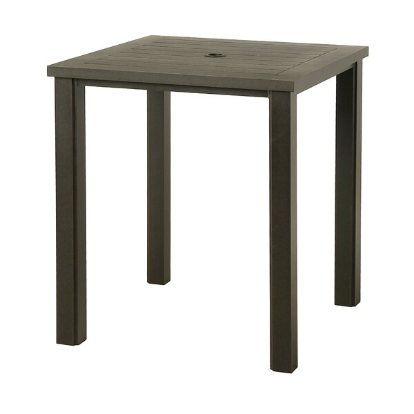 Sebrina Metal Bar Table By Latitude Run by Latitude Run Cool