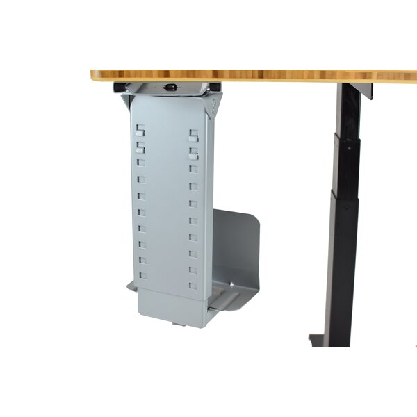 21 H x 5.75 W Desk CPU Holder by Uncaged Ergonomics