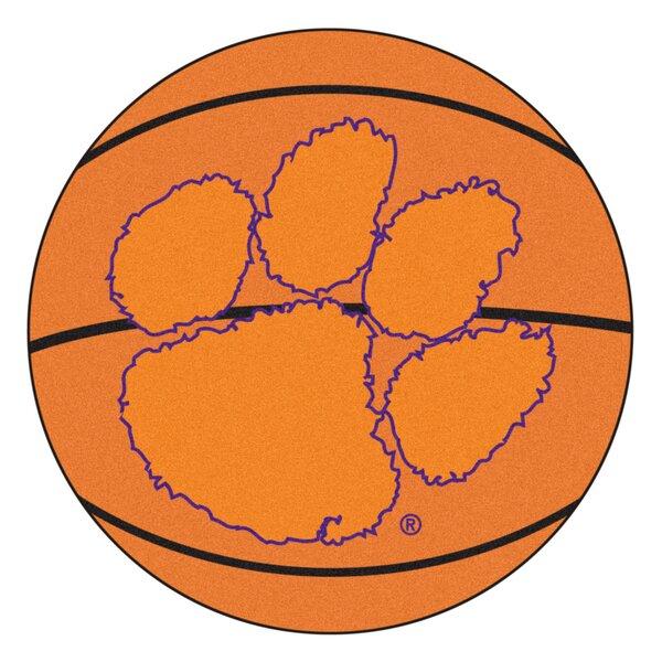 NCAA Clemson University Basketball Mat by FANMATS