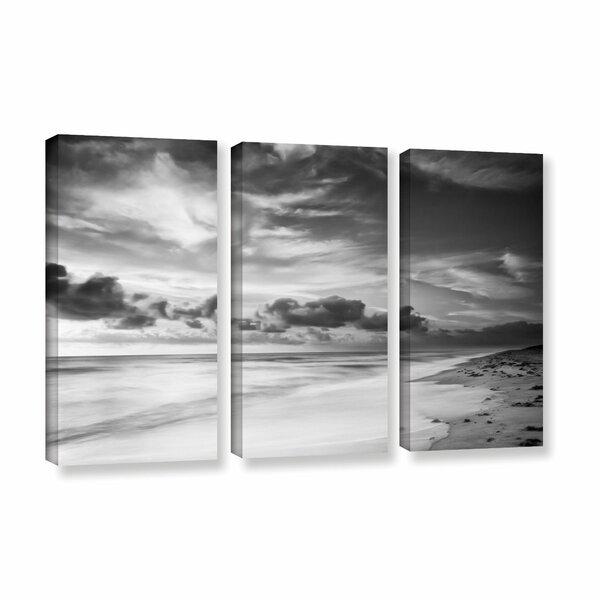 Atlantic Sunrise No.20 3 Piece Photographic Print on Wrapped Canvas Set by Latitude Run