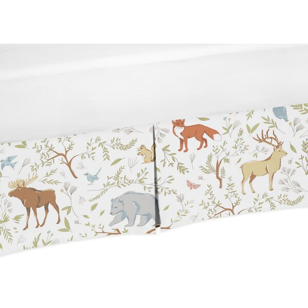 Woodland Toile Crib Skirt by Sweet Jojo Designs