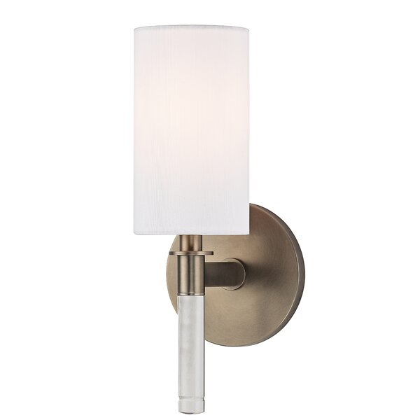 Wylie 1 Light Candle Wall Light By Hudson Valley Lighting.