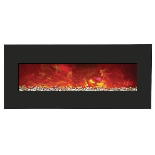 Floumoy Wall Mounted Electric Fireplace By Orren Ellis