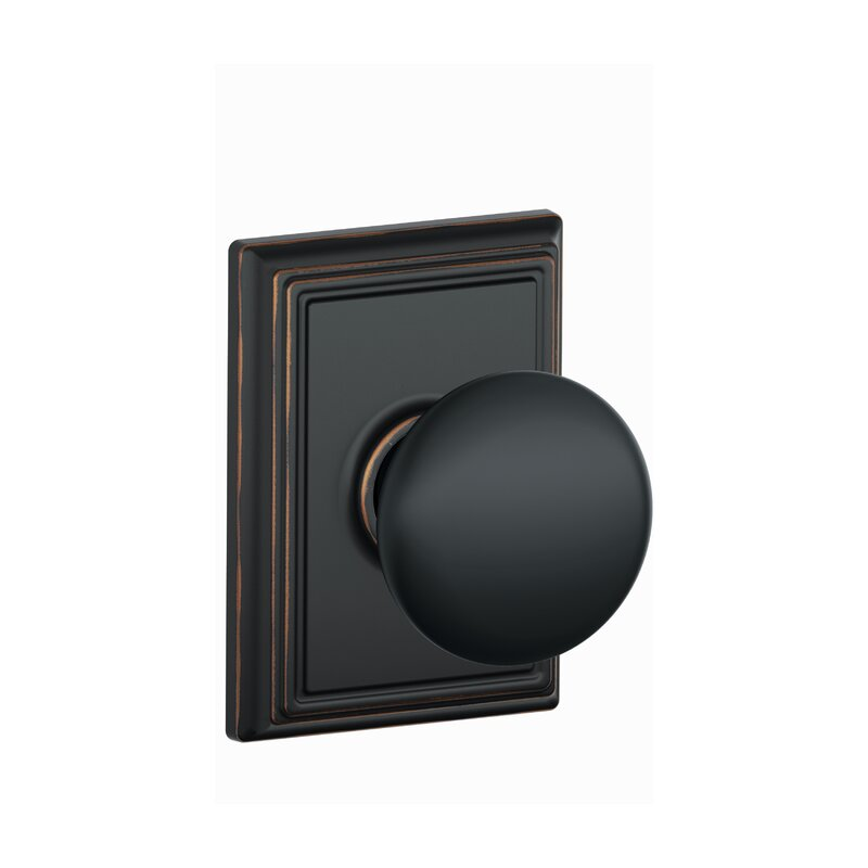 Schlage Plymouth Page Door With