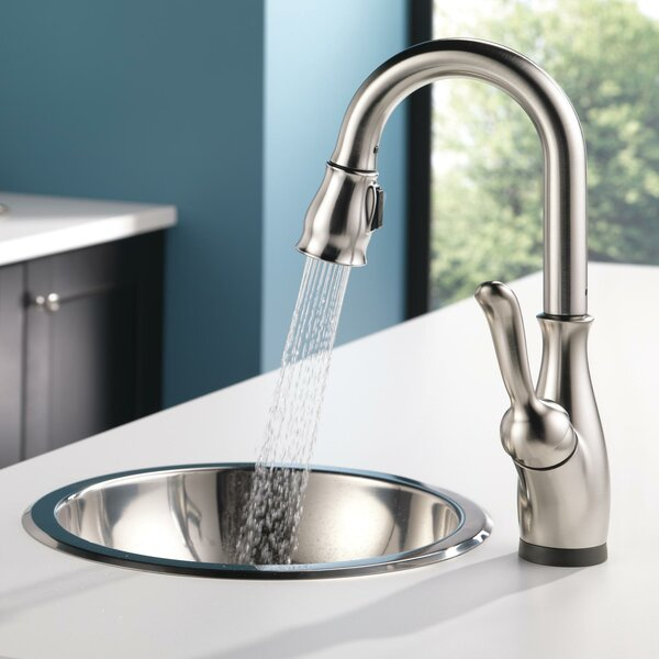Leland Touchless Bar Faucet with Touch2O® technology and Diamond Seal by Delta