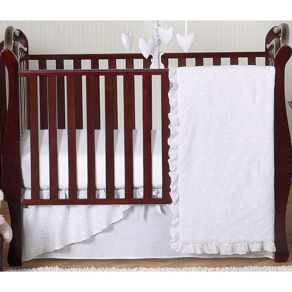Eyelet 4 Piece Crib Bedding Set by Sweet Jojo Designs