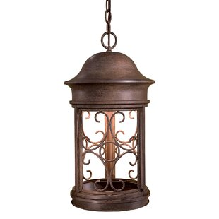 Price Check Sage Ridge 1-Light Outdoor Hanging Lantern By Great Outdoors by Minka