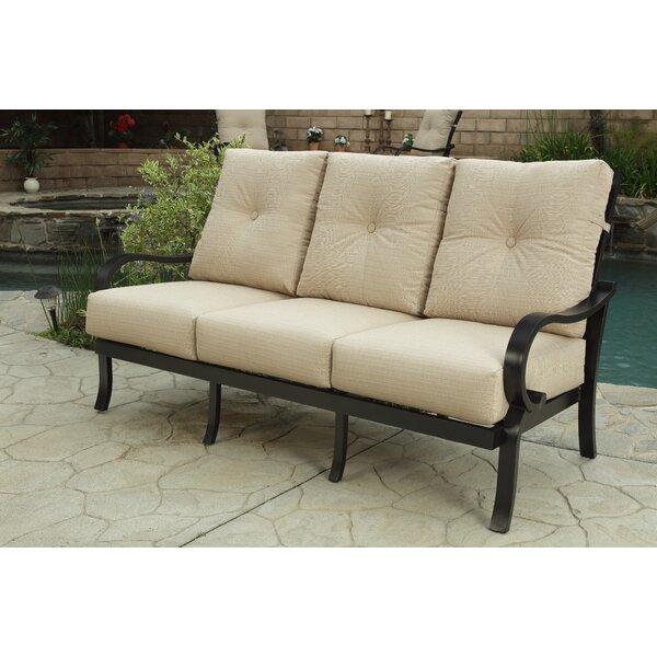 Iara Patio Sofa with Sunbrella Cushions by Red Barrel Studio