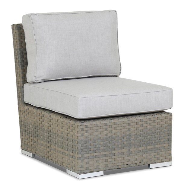 Majorca Armless Patio Chair with Sunbrella Cushions by Sunset West