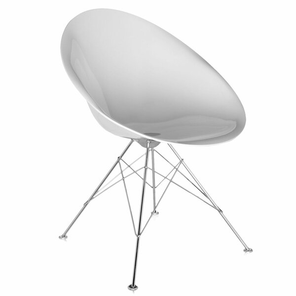 Kartell Ghost Eros Swivel Side Chair