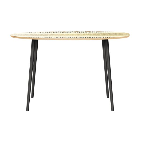 Holyfield Dining Table by Bungalow Rose
