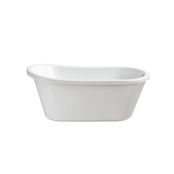 59 x 29.2 Freestanding Soaking Bathtub by Wildon Home ®