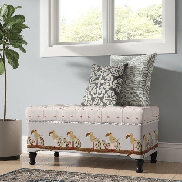 Crosby Upholstered Storage Bench By Bayou Breeze Sale