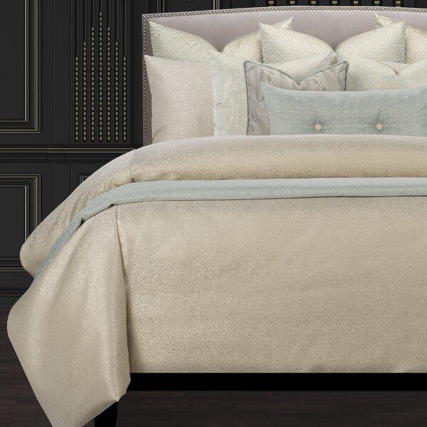 Effervescent Shimmering Luxury Duvet Cover & Insert Set