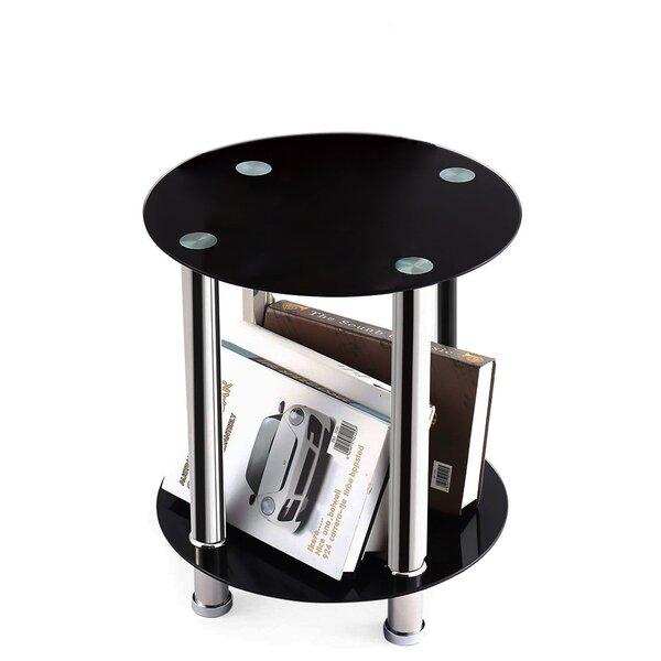 Heggi Tray Top 4 Legs End Table By Orren Ellis