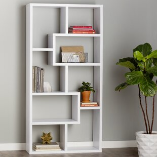 Review Chrysanthos Etagere Bookcase by Mercury Row