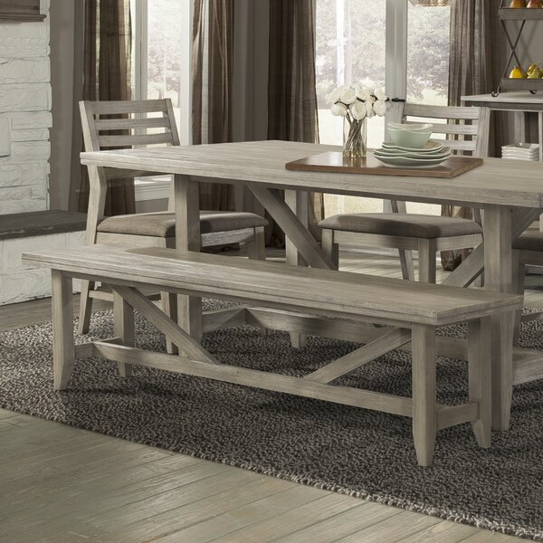 Upton Wood Bench by Union Rustic