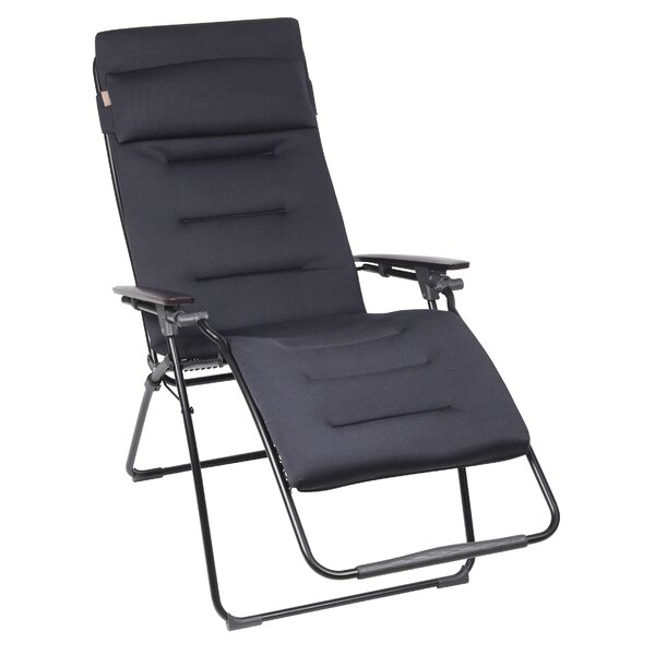 Didcot Clipper XL Reclining Zero Gravity Chair with Cushion by Freeport Park Freeport Park