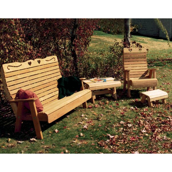 Cedar 3 Piece Conversation Set by Creekvine Designs