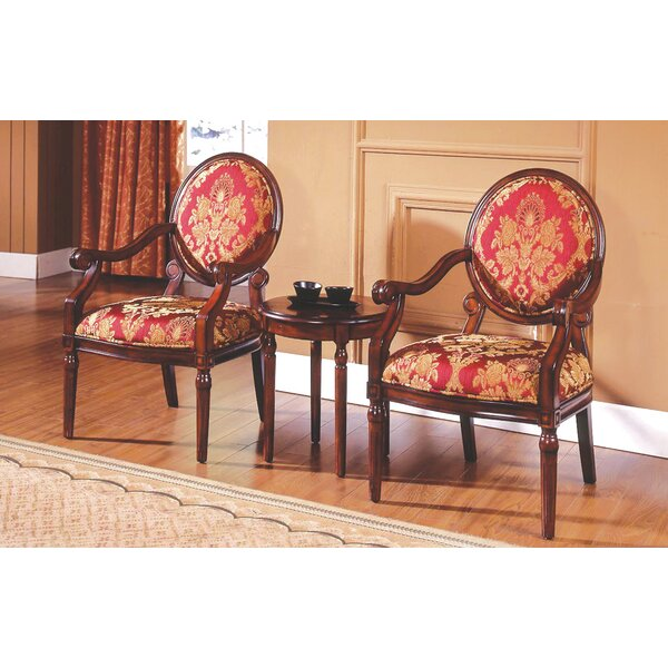 Charming Astoria Grand Ambassador 3 Pieces Living Room Armchair Set U0026 Reviews |  Wayfair