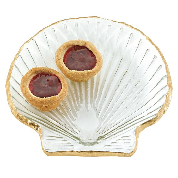 Oundle Seashell Platter by Highland Dunes