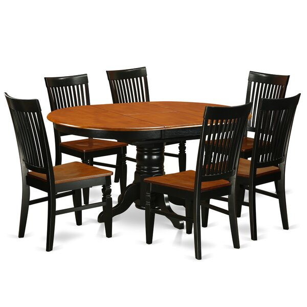 Piland 7 Piece Breakfast Nook Dining Set by August Grove