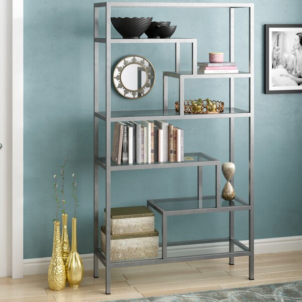 Moses Dabbed Etagere Bookcase by Rosdorf Park