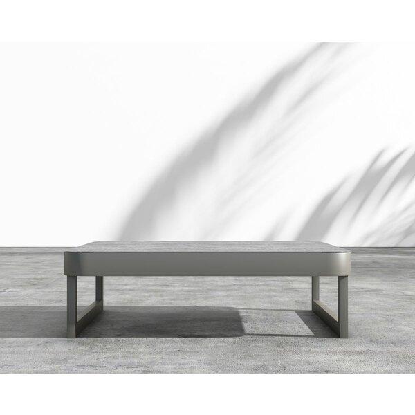 Coffman Aluminum Coffee Table by Brayden Studio