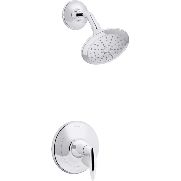 Alteo Rite-Temp Shower Trim with Lever Handle and 1.75 Gpm Showerhead by Kohler Kohler