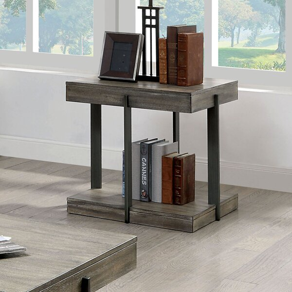 Sorrento End Table By Gracie Oaks