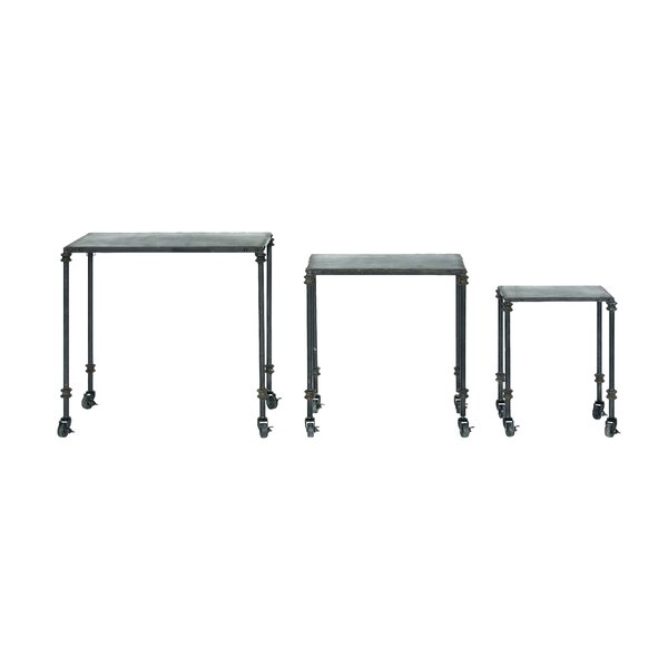 Dostal 3 Piece Nesting Tables by Williston Forge