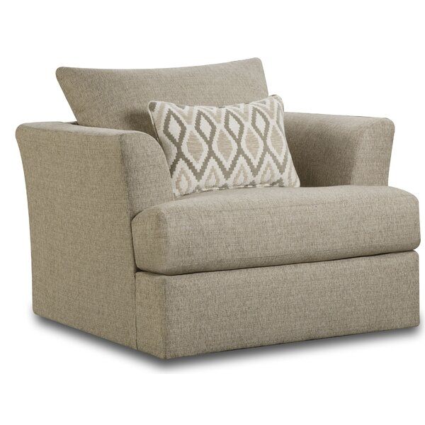 Clayhatchee Swivel Armchair by Darby Home Co Darby Home Co